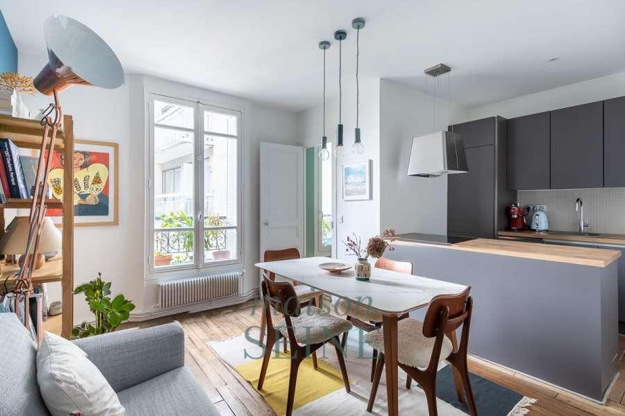 Apartment Paris 19ème